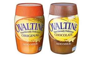 Ovaltine Original & Chocolate (300g) was £2.28 now £1.19 @ Lidl