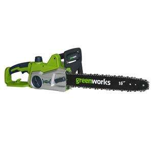 Greenworks 240V 40cm Electric Chainsaw - £49.95 @ MowDIRECT - Use voucher code FREEGLOVES for Free Gloves