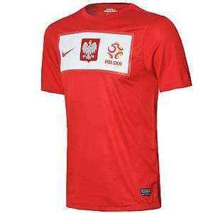 Nike Poland football shirt, from £15 @: JD Sport online, free store delivery