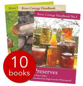 River Cottage Handbook Collection - 10 books for £25 delivered from The Book People