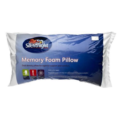 3 pack Silent Night Memory Foam Pillows £14.00 Instore @ Wilkinson