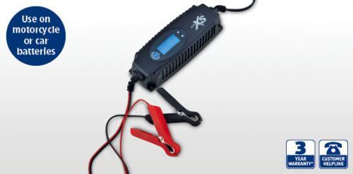 Aldi 12v/6v Battery Charger 4th October £13.99