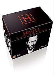 House M.D Complete DVD Boxset Series 1 - 8 Pre-order £38.00  at Tesco Entertainment