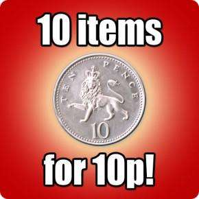 Tooltime bargain - 10 things for 10p ! ! ! (£5.99 postage)