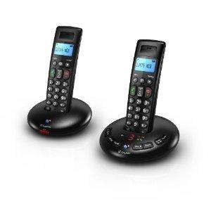 "Cordless Phone with 2 Handsets Answer Machine & 2.4"" TFT Colour Display £38.98 @ Amazon sold by Micros2u."