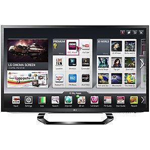 "LG 42"" Smart 3D TV inc 5 years guarantee £559.95 @ John Lewis"