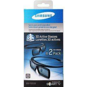 Samsung Active 3D Glasses Twin Pack - SSG-3050GB @ Tesco Direct, £20