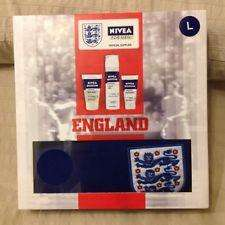 Nivea For Men Gift Set (Shave Gel, Moisturiser & Face Wash) with free England shirt. - £5 @ Tesco in-store.