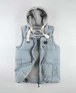 New Mens Superdry Academy Gilet £39.99 - RRP £94.99 - Buy from the official Superdry Ebay Store