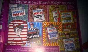 Where's Wally Kit Bag and 7 Books only £9.99 + £2.80 delivery if bought on their own @ The Book People