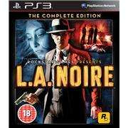 L.A. Noire: The Complete Edition PS3 / XBOX 360 £12.99 @ Zavvi via Play.com