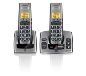 BT Freestyle 750 Twin DECT phone set for £48.49 at Currys/PC World
