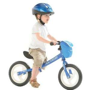 "12"" Balance Bike in Blue or Pink now £24.99 @ Toys R Us (poss extra 10% off using code)"