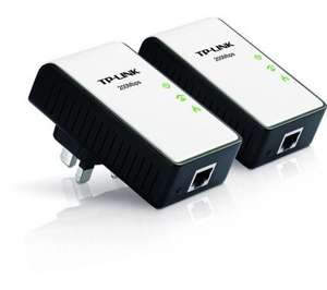 TP-LINK TL-PA211KIT 200Mbps Mini Powerline Ethernet adapter kit, twin pack £23.99 @ Dixons