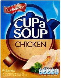 Batchelors cup a soup - Various flavours - 50p @ Asda