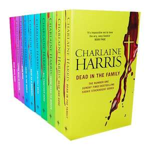 True Blood Sookie Stackhouse 10 Book Collection  by Charlaine Harris £9.99 @ The Book People