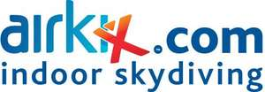 2 for 1 Airkix Indoor Skydiving Special Offer £39.20 with discount code normally £98