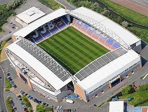 Wigan Athletic vs Bradford City in the League Cup, £10 adults, £5 kids on 30th October @ 7.45pm