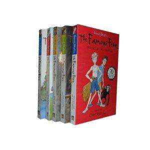 Famous Five 70th Anniversary Book Set (books 1-5) £5 instore at Tesco