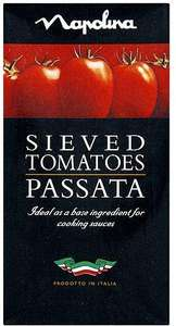 Napolina Passata (Sieved Tomatoes) 500g Half-Price 54p @ Co-op