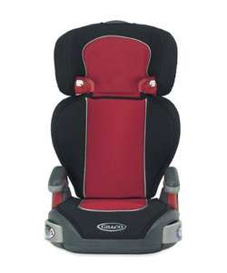 Mothercare- online -Graco Junior Maxi Highback Booster Car Seat - Scarlett- delivered