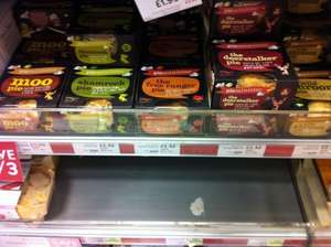Pieminister Pies (all flavours) £2.32 @ Waitrose