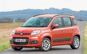 62 plate practically brand new Fiat Panda 1.2 POP with extras from Fiat Main dealer