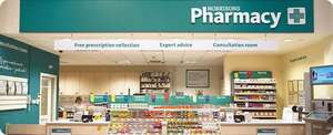 Winter Flu Jab at any Morrisons  Pharmacy for £7.00 + Free Tea or Coffee