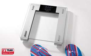 Glass Digital Bathroom Scales £9.99 at Lidl