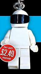 LEGO MINIFIGURE STIG KEYRING £2.49 @ Top Gear