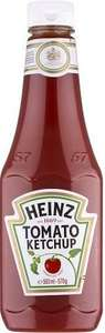 Heinz Tomato Ketchup Squeezy (570g) was £2.00 now £1.00 @ Co-op