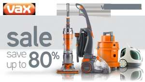 "Vax ""Yard Sale"" - save up to 80% @ Vax"