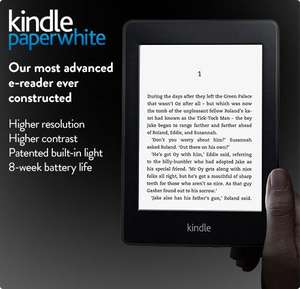 Kindle Paperwhite is available for preorder in UK! @ Amazon (obviously!) £109 WiFi only £169 WiFi+3G