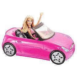 Barbie Convertible Car & Doll £12.50 @ Tesco Direct