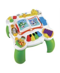 Price Match Leapfrog Learn and Groove Musical table in green £10.99 after match and 20% difference @ Mothercare
