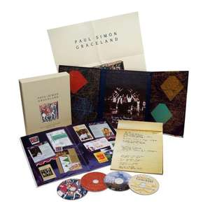 Paul Simon - Graceland 25th Anniversary Collectors Edition Box Set @ Popmarket £45.50