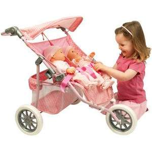 You & Me Twin Jogger Was £49.99 now £23.99 (Use voucher) @ Toys R Us also Online (Use code TRU20E)