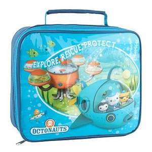Boy's blue 'Octonauts' lunch bag, £3.37 Delivered Using Codes BG27 + SHD1 @ Debenhams, Also Rucksack, See Below