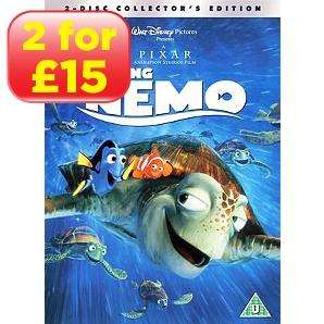 Disney DVD's 2 for £15! at Asda