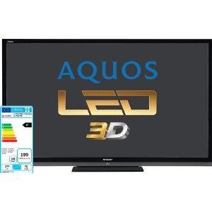 """Sharp 70"""" Black 3D LED TV £1919.98 @ Costco"""