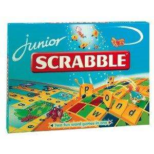Mattel Scrabble Junior £15.99 with free delivery as usual @ Amazon (£19.99 @ Asda & £19.97 @ Argos & you'd have to pay p&p)