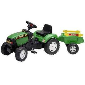 Country Tractor and Trailer Was £99.99 Now £39.99 With Code @ Toys R Us