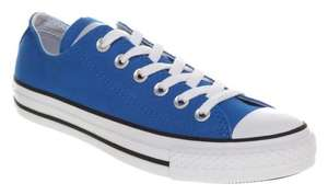 Converse All Star Ox Low Blue - OFFICE £15.00 was £42.86 Size 10 ONLY