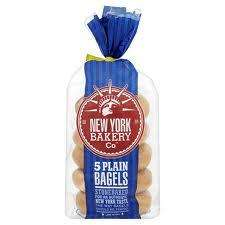 5 Pack New York Bagels £1 ASDA