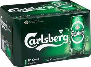 12 x 440ml carlsberg for £7 @ asda + £2 off voucher