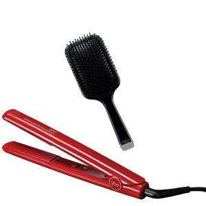 ghd Red Gloss IV Styler and Paddle Brush-Look Fantastic £68 plus free delivery @ Look Fantastic