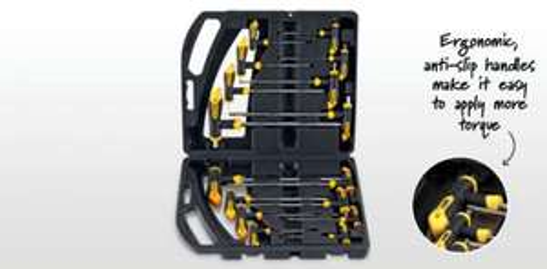 T Handle Hex/Torx Key set @ Aldi (18/10/12) only £13.99