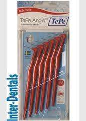 TePe Angle Interdental Brushes 0.5mm Red & Orange 6 brushes £1.24 @ Tesco instore