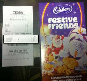 Cadburys Festive Friends @ Tesco £1.00