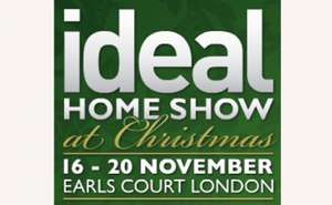 Ideal Home Show Christmas 2 Tickets for £18.20 (Weekdays) £20.20 (Weekends)